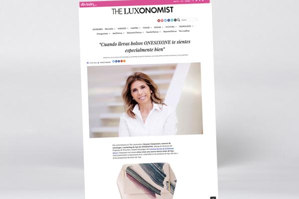 Susana Campuzano cuenta su trabajo de asesoramiento a onesixone en luxonomist