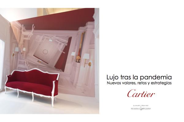 Curso formativo Cartier lujo tras la pandemia