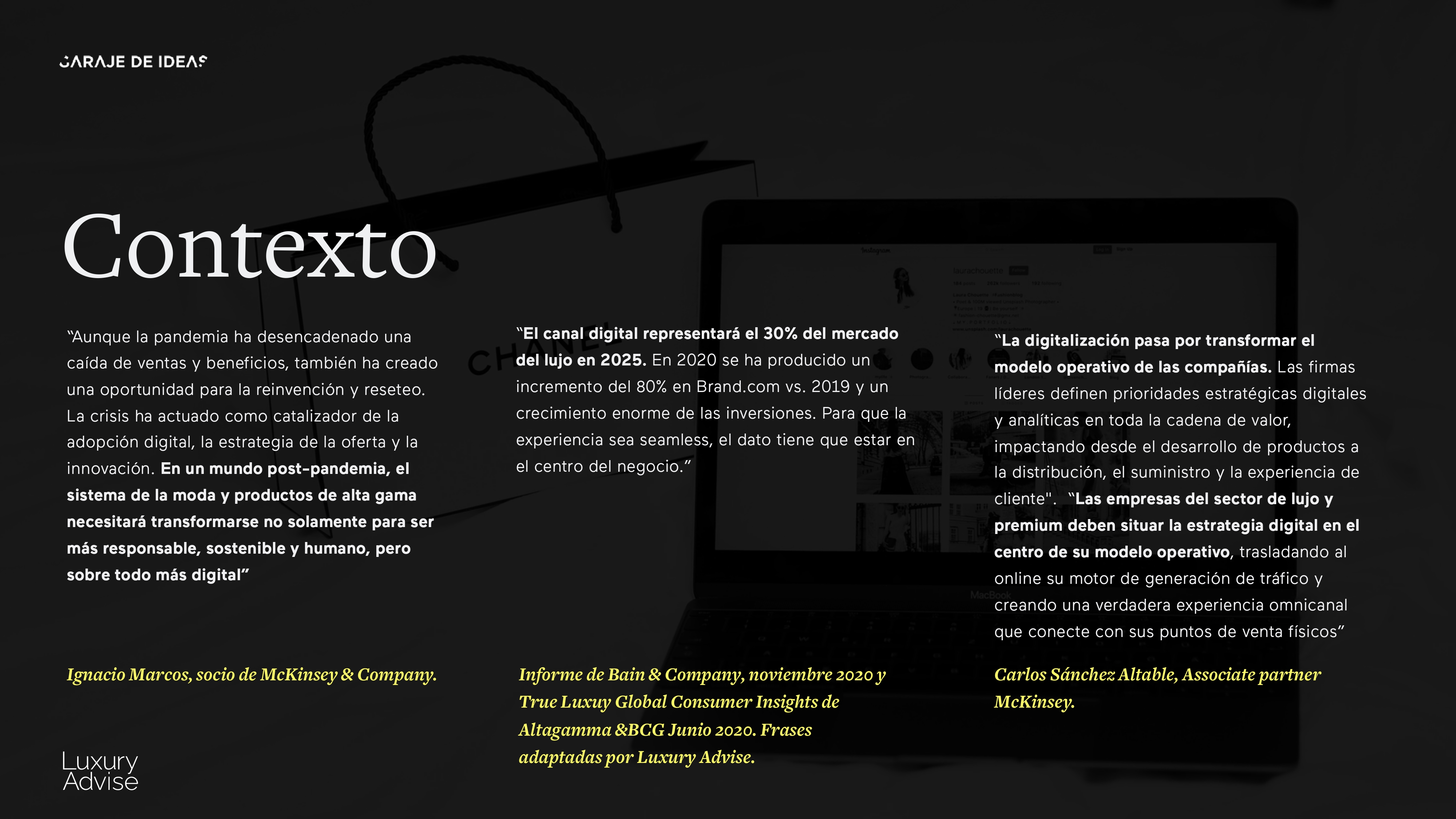 210413 - Client Luxury Experience - Luxury Advise & Garaje de Id